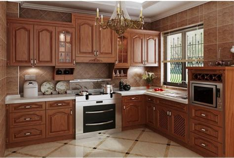 modern kitchen design wood kitchen cabinet   kitchen