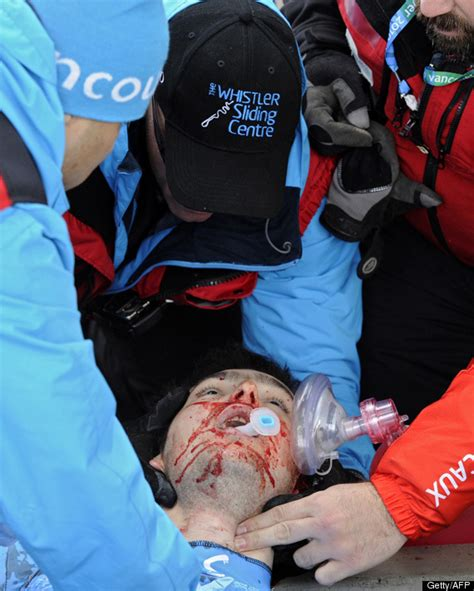 Olympics Skeleton Death Nodar Kumaritashvili Crash Video Winter Olympics Luge