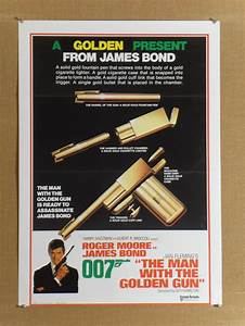 Man with the Golden Gun (advance) Vintage Movie Poster ...