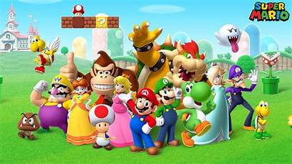 Mario Characters Luigi Brothers Games Wallpapers 1080