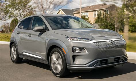 2019 Hyundai Kona Electric Grabs Excellent Range Rating