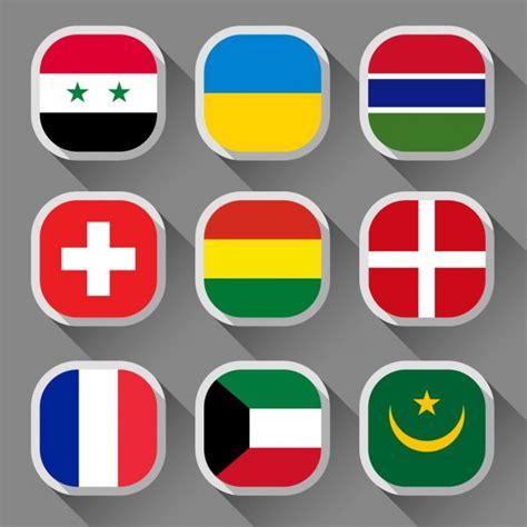 正方形 の 国旗