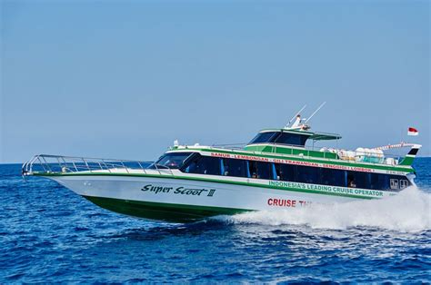 Scoot Ferry Sanur To Nusa Lembongan by Scoot Fast Cruise To Gili Lombok And Nusa Lembongan