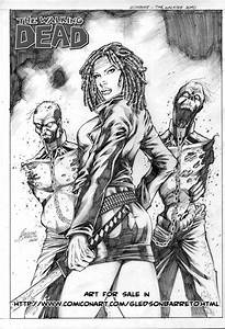 Michonne - The Walking Dead by jgledson on DeviantArt