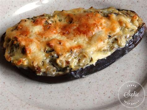 cuisiner l aubergine à la poele aubergines farcies aux cèpes la tendresse en cuisine