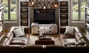 u shaped sectionals large u shaped leather sectional With u shaped sectional sofa restoration hardware