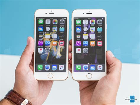 iphone 6 and iphone 6s apple iphone 6s vs iphone 6