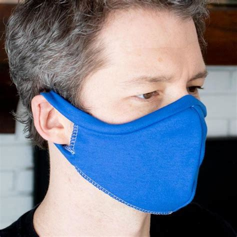 elastic   shirt face mask sewing pattern