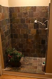 and white bathroom ideas design of the doorless walk in shower decor around the