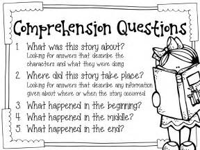 Basic Reading Comprehension Questions