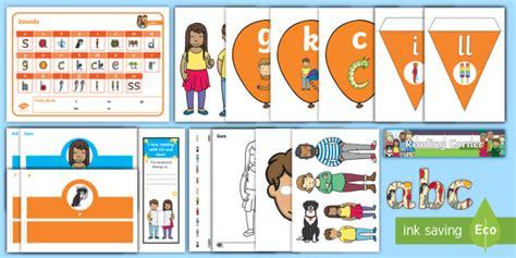 * New * Free Twinkl Phonics Teacher Toolbox Taster Resource Pack Letters