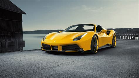 cars ferrari 2016 ferrari 488 gts novitec rosso 4k wallpaper hd car