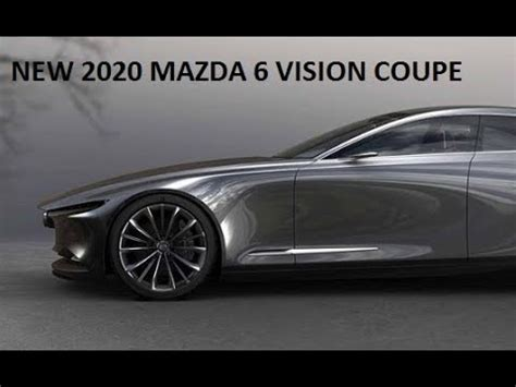 mazda 6 vision coupe 2020 new 2020 mazda 6 vision coupe concept preview