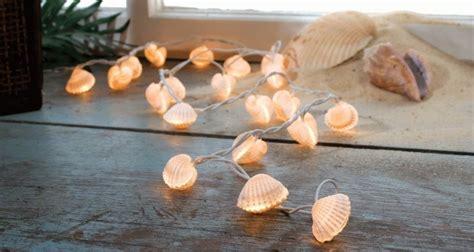 how to make seashell string lights