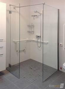Dusche Mit Glaswand : bodenebene dusche glaswand mit ebenerdige dusche bauen aus glas glasprofi24 18 und glasdusche ~ Sanjose-hotels-ca.com Haus und Dekorationen