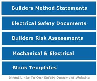4 electrical box method statement for small building works builders safety