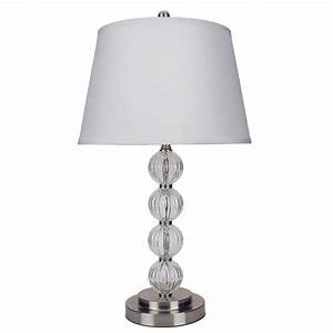ore international 285 in satin nickel glass table lamp With table lamp logo quiz
