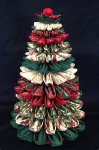 17 best ideas about folded fabric ornaments on fabric ornaments fabric
