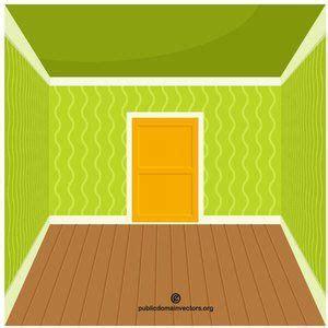 empty room vector image publicdomain vectorgraphics