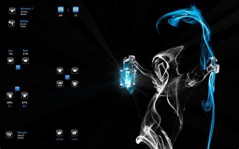 Ghost Themes Ghost Windows7 Rainmeter Theme
