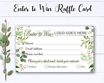 essential oils enter  win raffle ticket drawing door