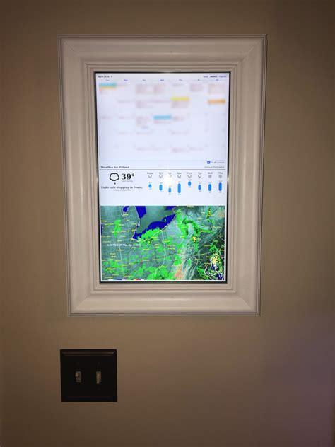 raspberry pi display  google calendar weather