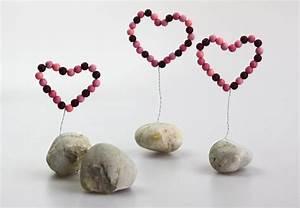 Sterne Selber Basteln Mit Perlen : deko herz aus perlen handmade kultur ~ Lizthompson.info Haus und Dekorationen