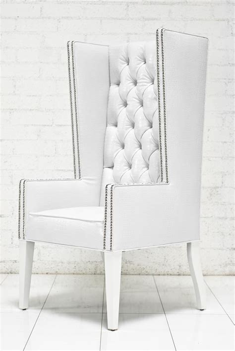 white wingback chairs roomservicestore com ultra mod wing dining