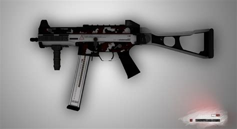 cs go ump 45 skin technician by inkonmyflesh on deviantart