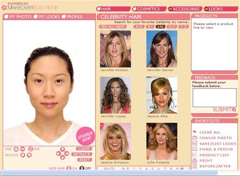 Try Different Hairstyles On My Face For Free Try Different