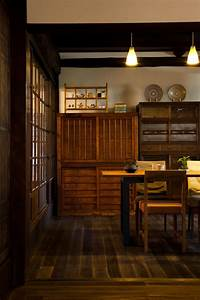Küchen Und Esszimmerstühle : japanese old china cabinet farm style japan haus k chen haus und einrichtung ~ Watch28wear.com Haus und Dekorationen