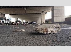 Concrete chunk falls from Gardiner CTV News Toronto