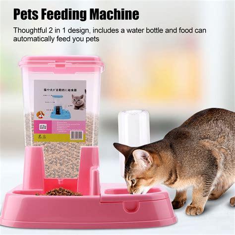 mierrpet home tempat makan anjing kucing automatic pet