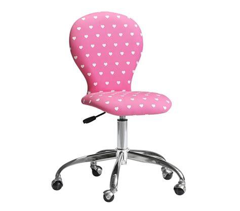 upholstered desk chair chrome base pottery barn