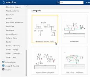 Genogram maker templates free download online app for Smart draw genogram