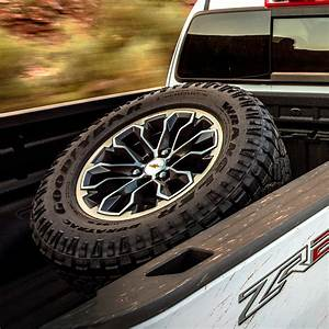 2018 Canyon Spare Tire Carrier  Cargo Bed Mounted  Zr2