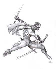 Ninja Blade Drawings