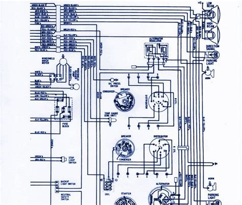 service owner manual  ford thunderbird wiring diagram