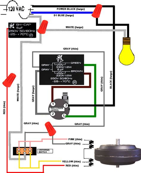 3 Speed Ceiling Fan Switch Wiring Diagram 3 speed service manual