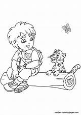 Coloring Pages Go Diego Printable Print Popular Coloringhome sketch template