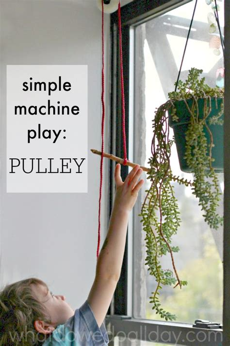 pulley simple machine project