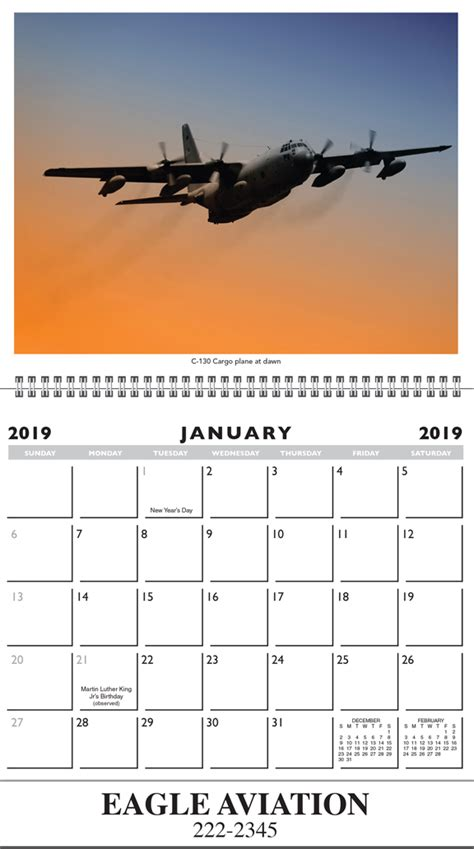 military classic aircraft calendar calendar company