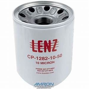 Lenz Hydraulic Canister Filter Element Cp
