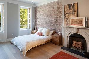 Brick wall designs decor ideas for bedroom design