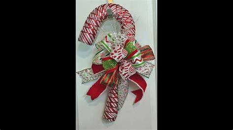 candy cane  ribbon  dollar tree candy