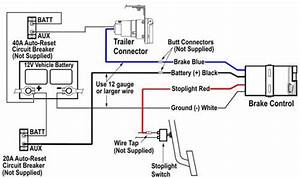 97 Dodge Dakota Electric Brake Installation No Blue Plug But Is A Plug In The Truck That Has The