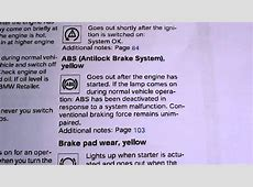BMW E36 3 Series ABS Light How To Turn It Off YouTube