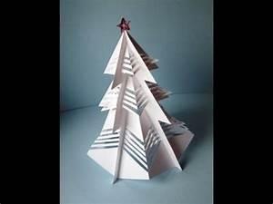 Weihnachtsbäume Aus Papier Basteln : 3d weihnachtsbaum aus papier basteln youtube ~ Orissabook.com Haus und Dekorationen