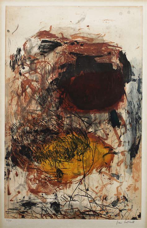 sunflower iii  joan mitchell annex galleries fine prints