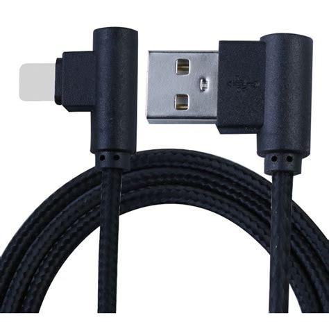 kabel lightning l shape 25cm black jakartanotebook